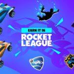 Fortnite x Rocket League rewards