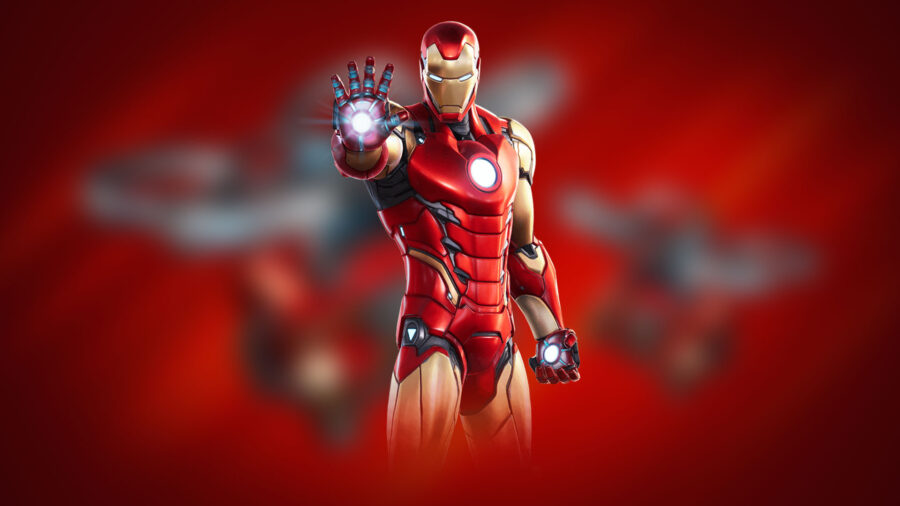 Full Iron Man cosmetic for Fortnite