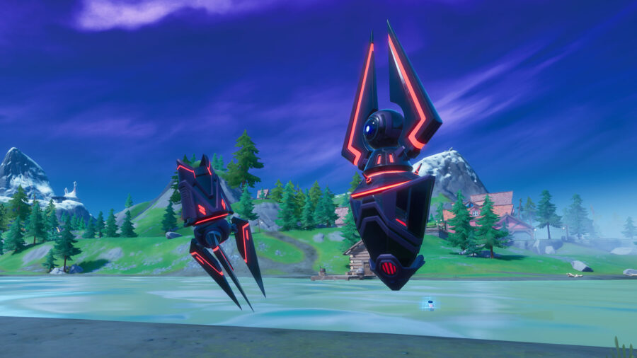 Gatherer with Gorger in Fortnite