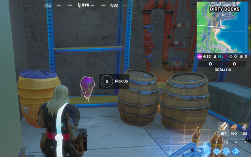 Fortnite Wolverine's Trophy in-game