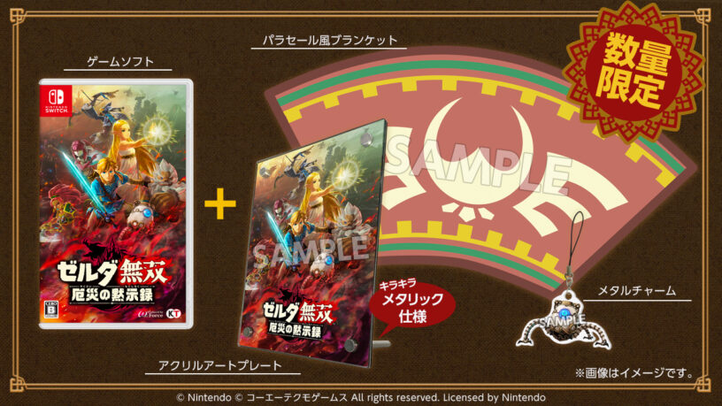 Hyrule Warriors Treasure Box Package