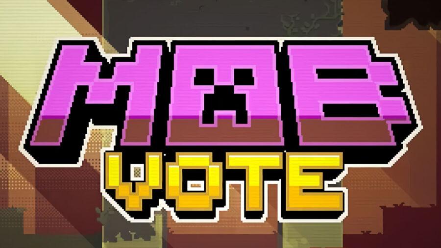 Minecraft Mob Vote logo