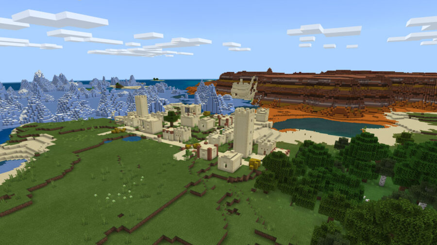Best Minecraft Pe Seeds 1 16 2021 Pro Game Guides