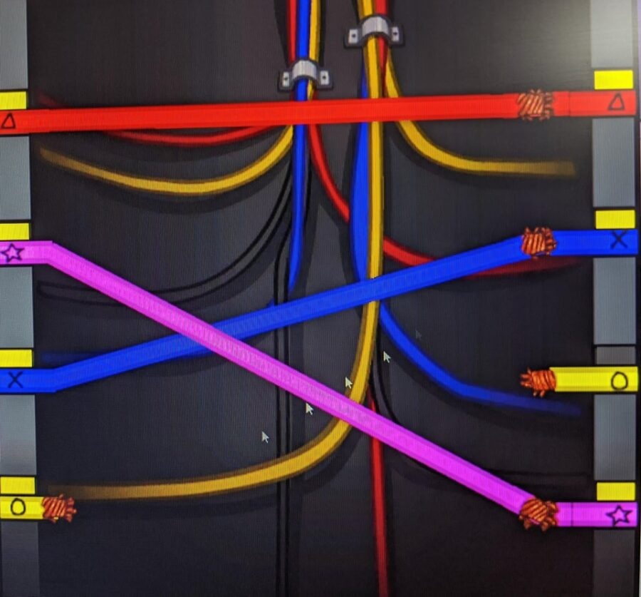 A preview screenshot of the new colorblind wires