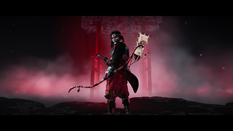 A picture of the Hunter Class in Ghost of Tsushima: Legends