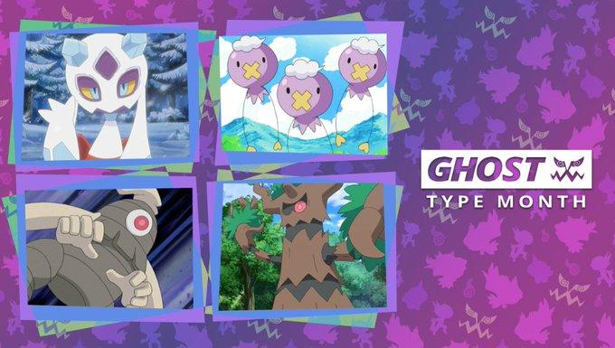 A selection of spooky Pokemon!