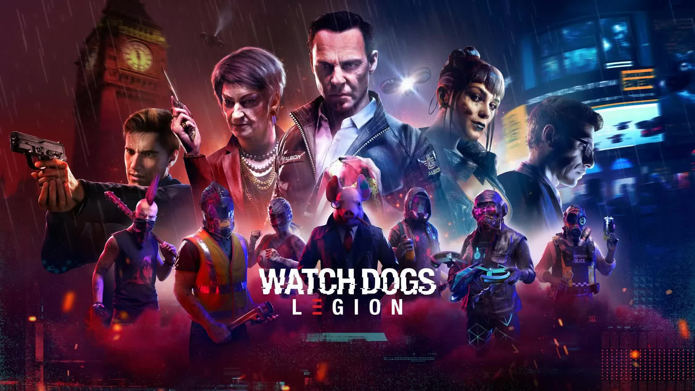 Watch Dogs Legion Release Time Release Date Cross Play Cross Save Cross Gen And Everything We Know Pro Game Guides