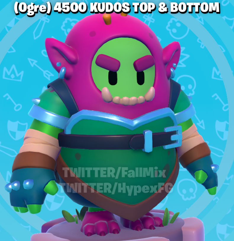 Roblox Ogre Hat New Fall Guys Leaked Skins Sonic The Hedgehog Geralt And More Pro Game Guides
