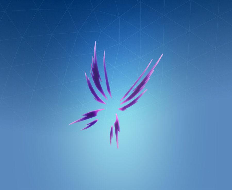 Glass Wings Back Bling