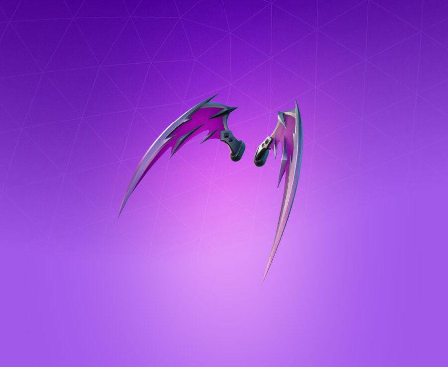 UV Wings Back Bling