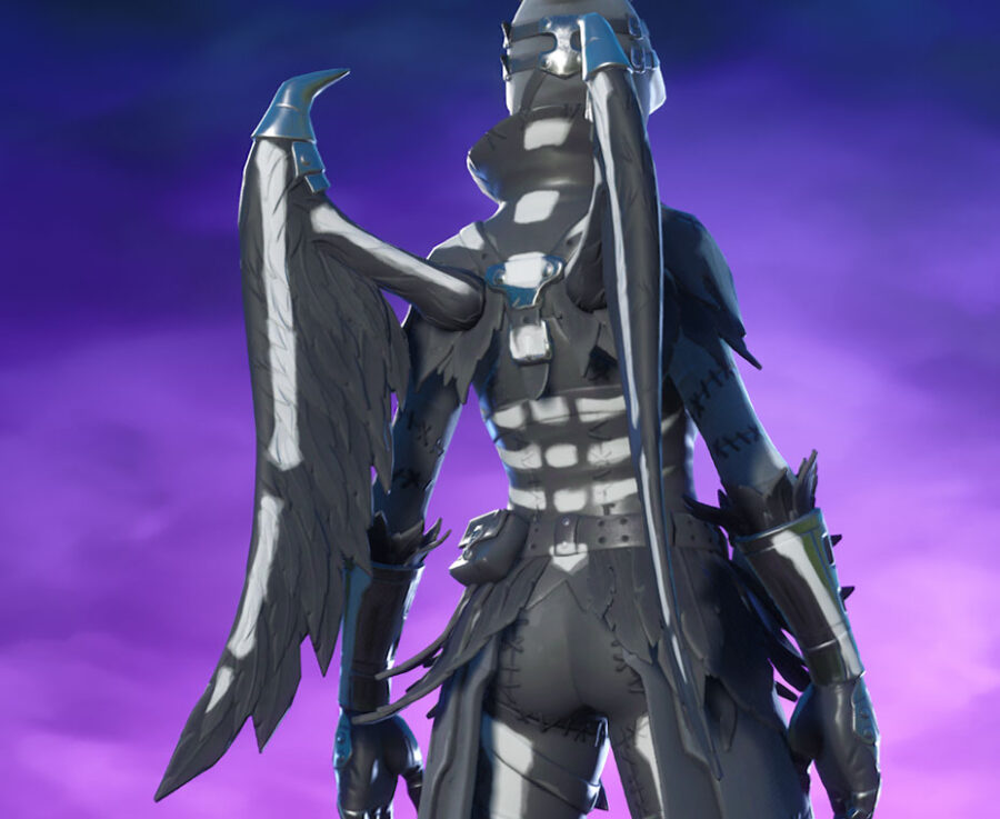 Bone Wings Back Bling