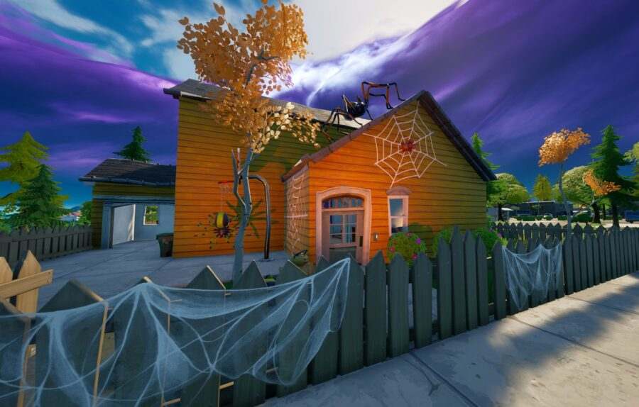 New Halloween decorations in Fortnite