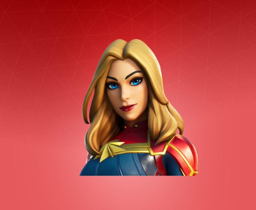 Captain Marvel Skin