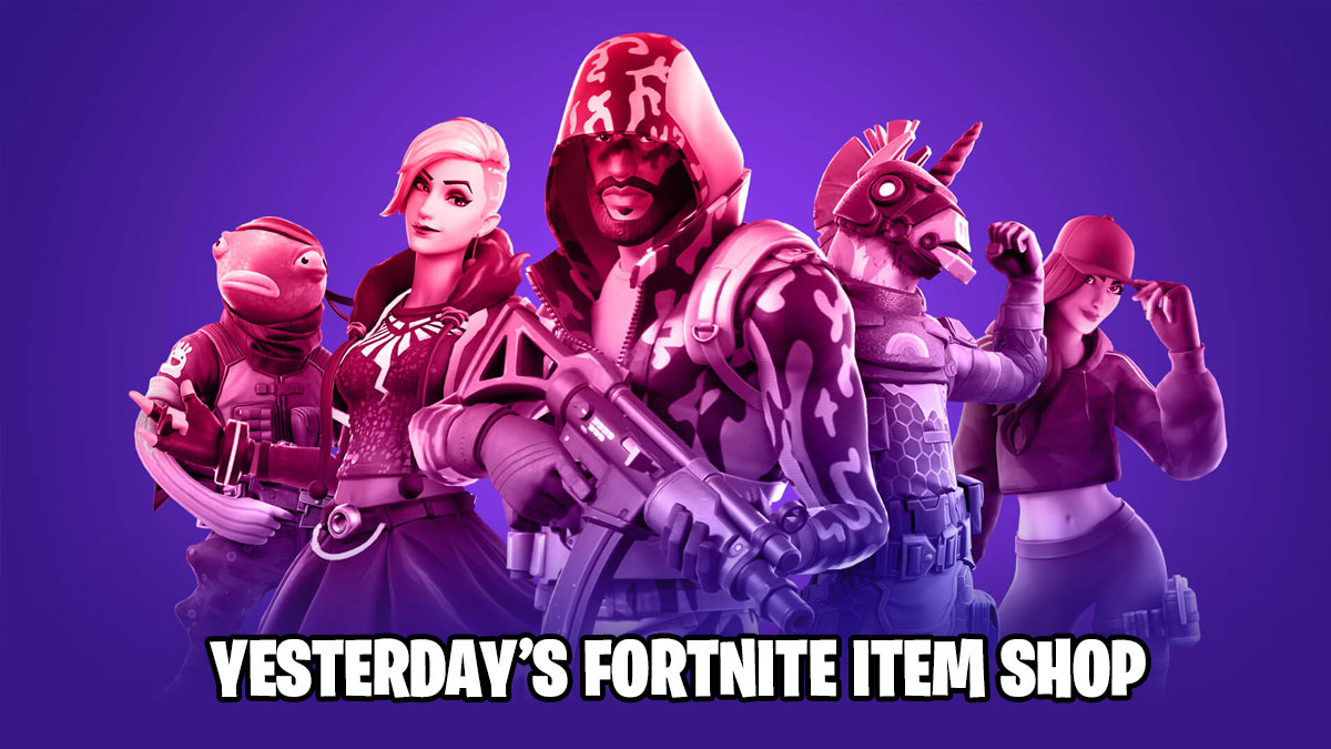Yesterday S Fortnite Item Shop Pro Game Guides This post is updated daily with every new item that is available, and will be refreshed with the current rotation of. yesterday s fortnite item shop pro