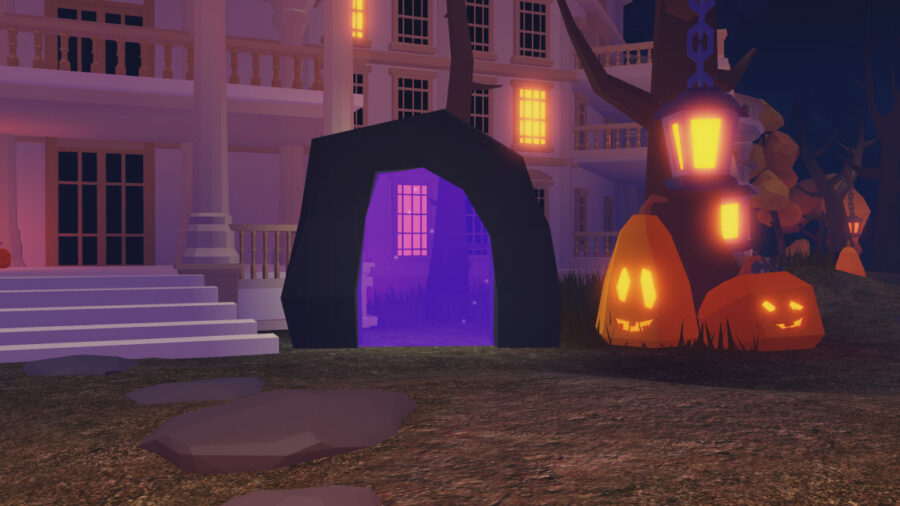Roblox Islands Halloween themed hub