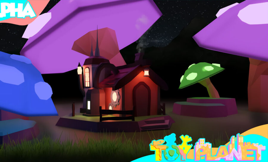 Toy Planet starter house