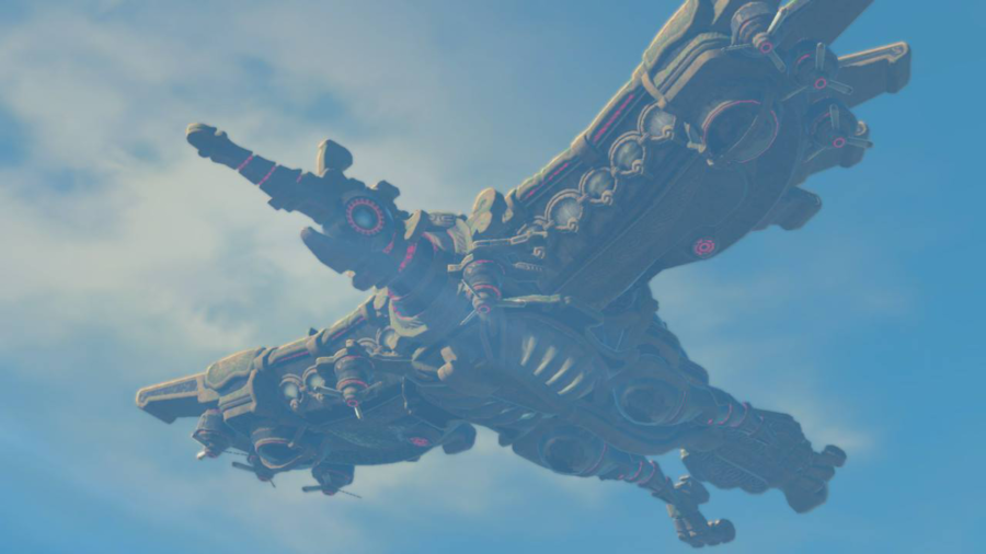 A picture of the Divine Beast Vah Medoh