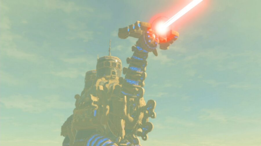 A picture of the Divine Beast Vah Naboris