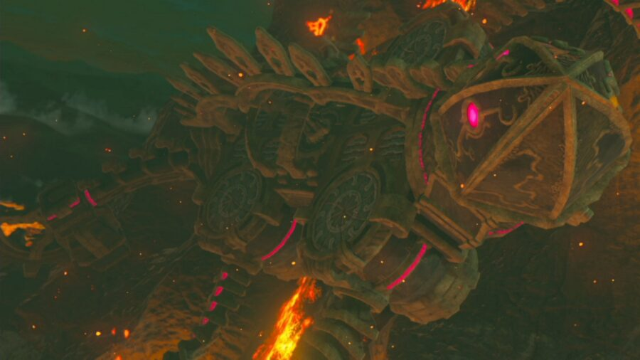 A picture of the Divine Beast Vah Rudania