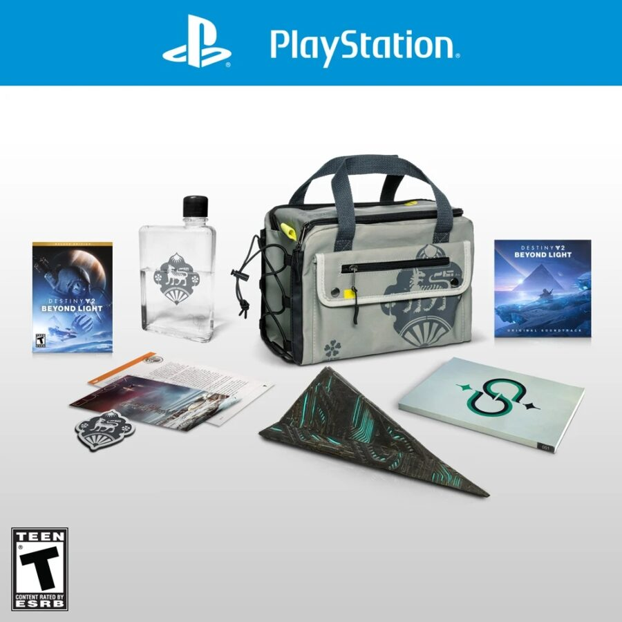 A picture showing off what's included in the Destiny 2: Beyond Light Collector's Edition