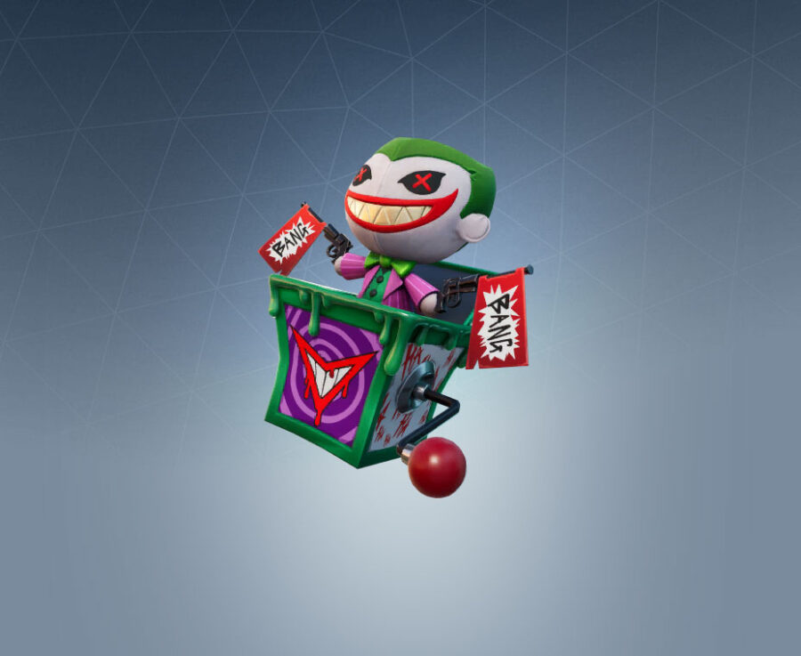 Laugh Riot Back Bling