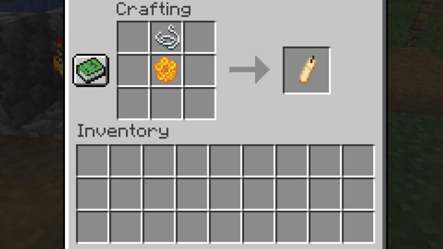 Minecraft Candle Recipe