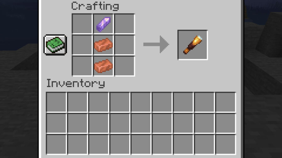 Minecraft Spyglass Recipe