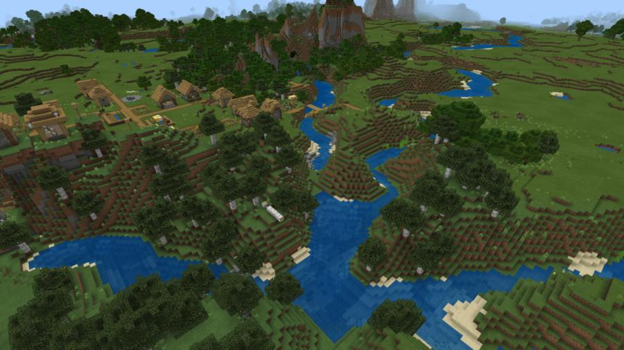 A screenshot of a 6 river spawn.