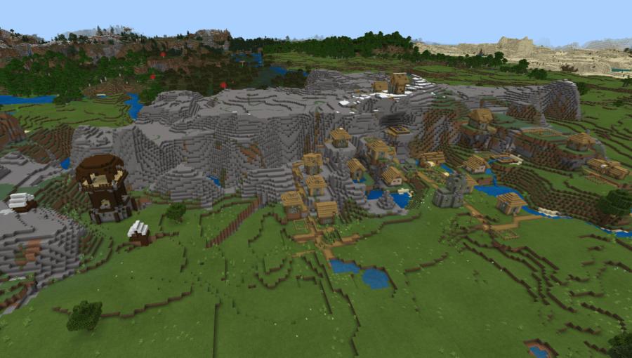 A Pillage Outpost vs a Village.