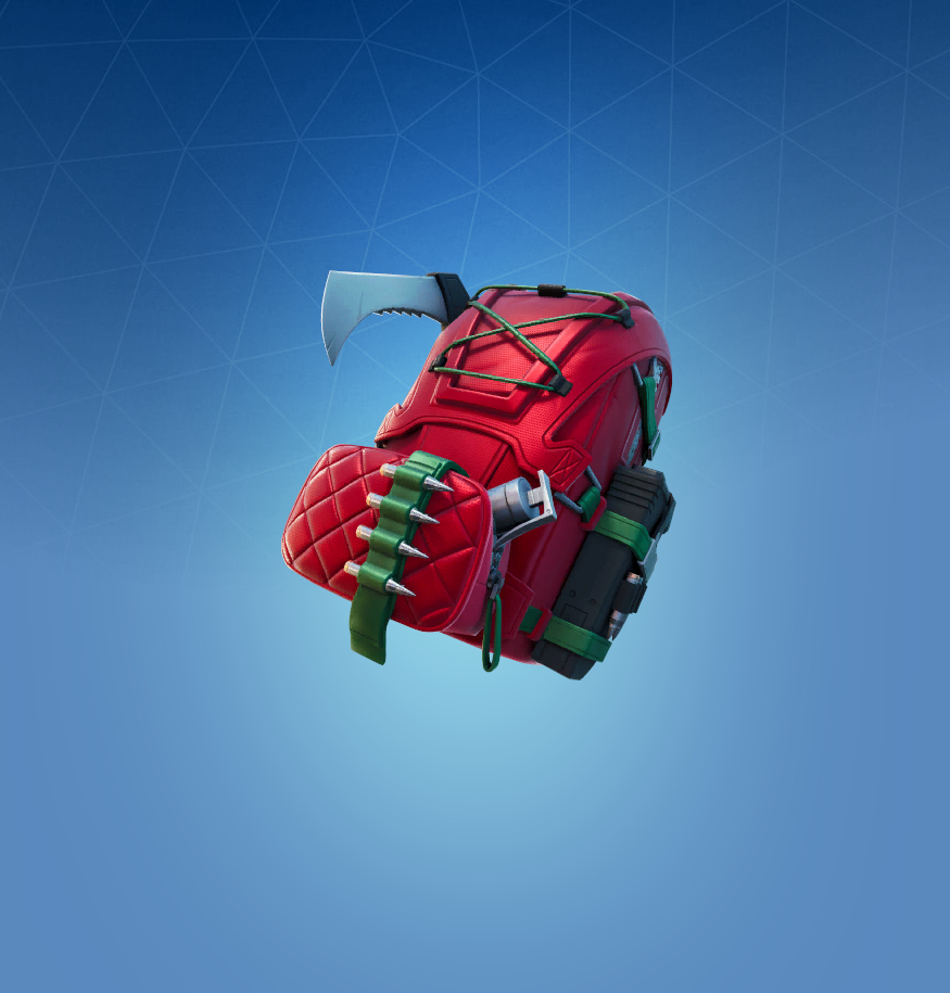 Merry Mountaineer Back Bling