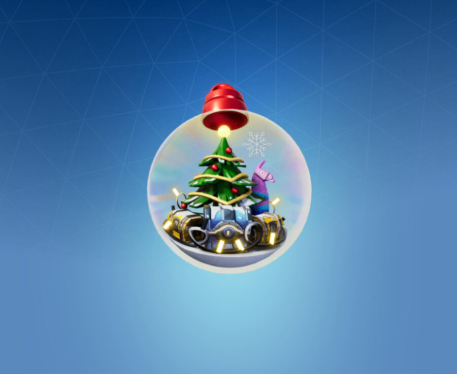 Swirly Snowglobe Back Bling
