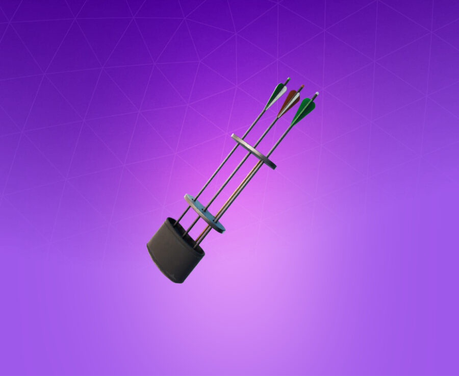 Hunting Quiver Back Bling
