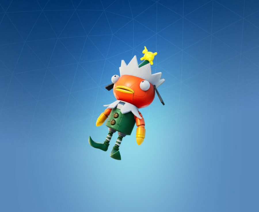 The Fishcracker Back Bling