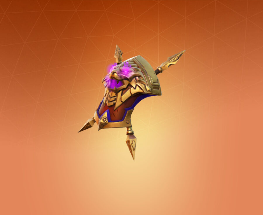 Shield of the Mighty Back Bling