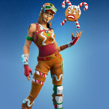 Gingerbread Raider skin