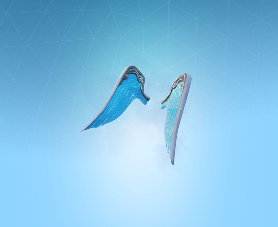 Wings of Frost Back Bling