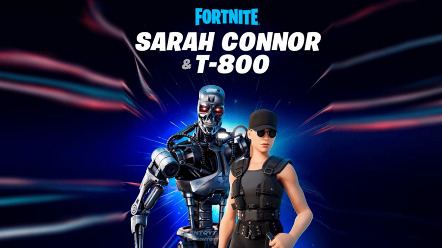 Leaked image of Fortnite Terminator Skins