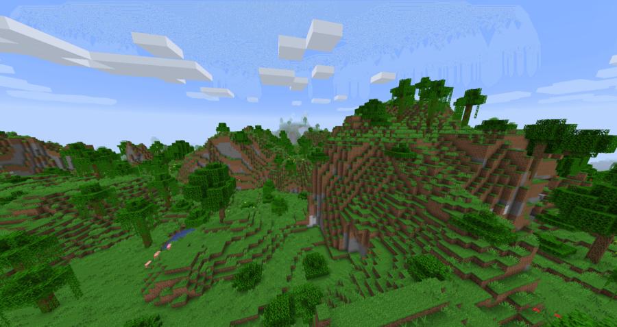 Minecraft Modified Jungle Edge Biome.