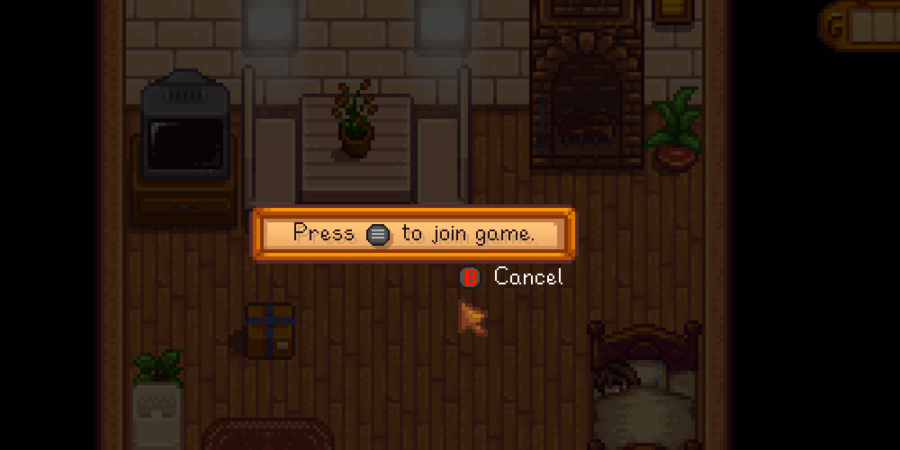 Instruction for a new player to join a Stardew Valley game.