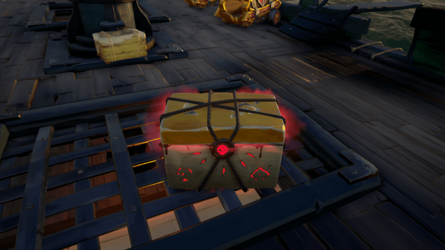 A reaper's chest in Sea of Theives.