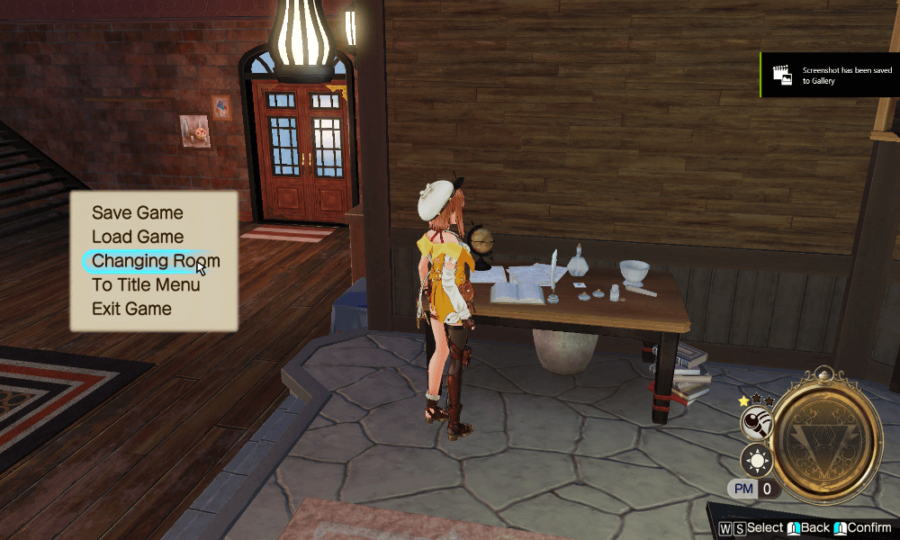 Atelier Ryza 2 How to change outfits
