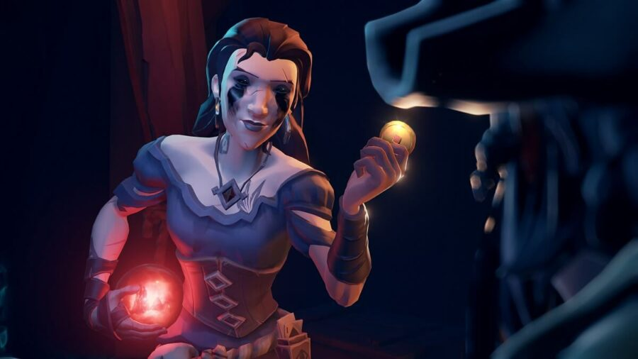 A screenshot of the Sea of Thieves Curse of the Order.