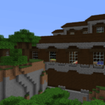 A screenshot of a Minecraft Mansion.