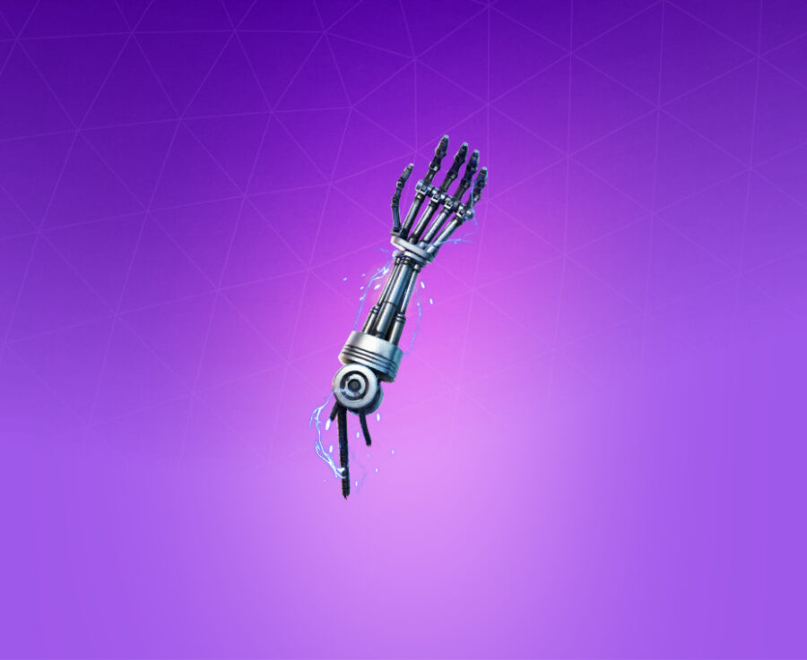 T-800 Endoskeleton Arm Back Bling