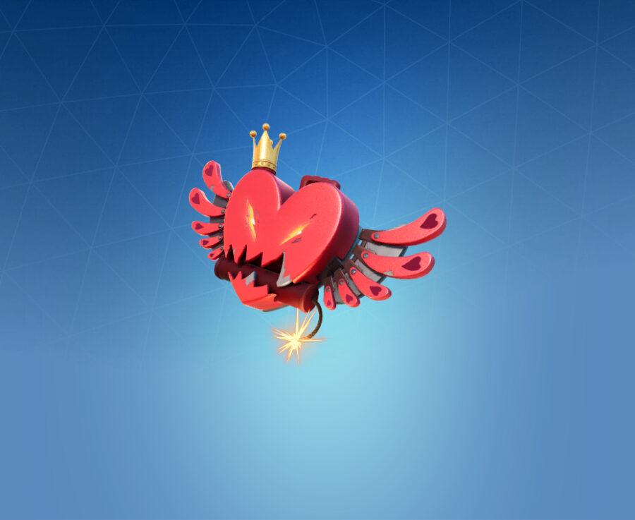 HeartBlast Back Bling