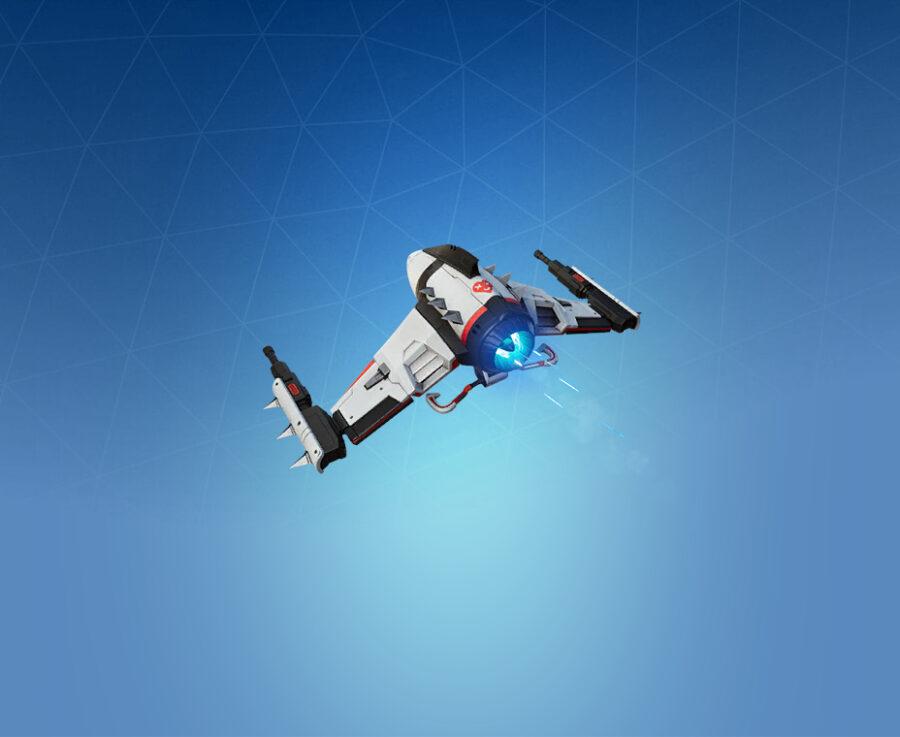 Spikey Jet Glider