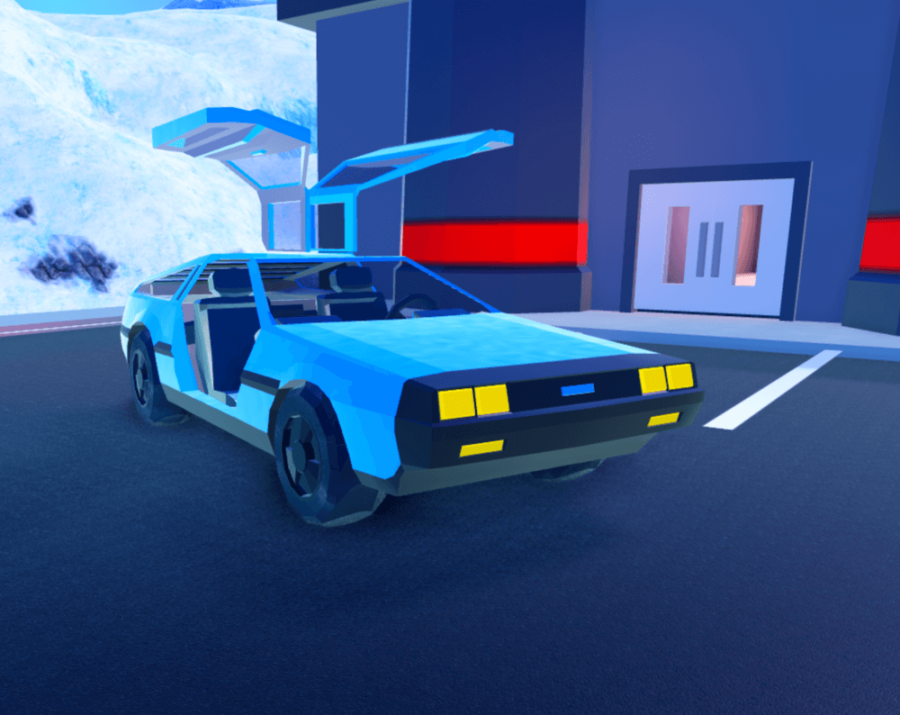 Roblox Jailbreak Delorean
