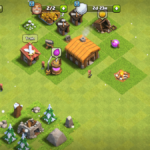 A full screenshot of Clash of Clans.