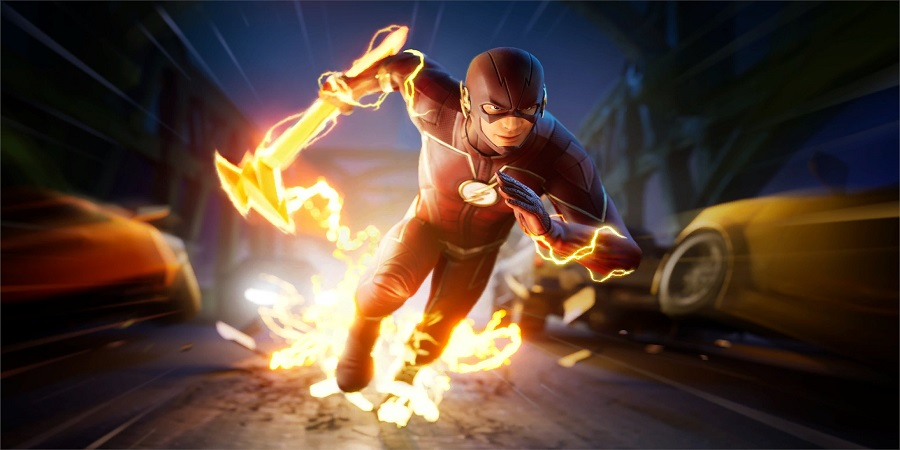 My name is Barry Allen. Loading Screen