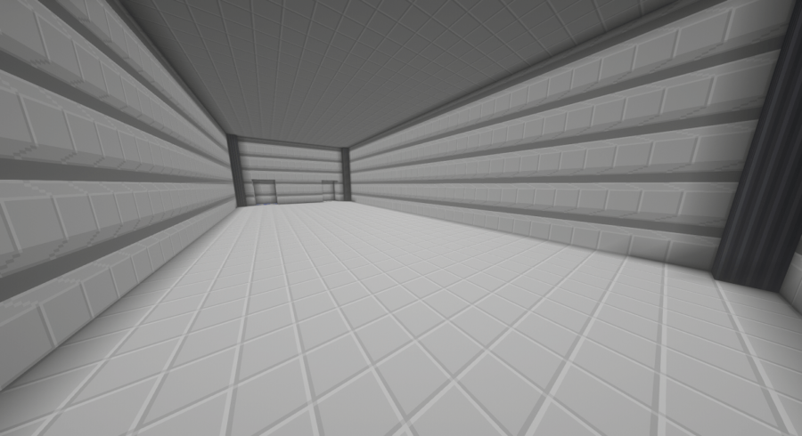 A screenshot of a blank room in Miencraft.